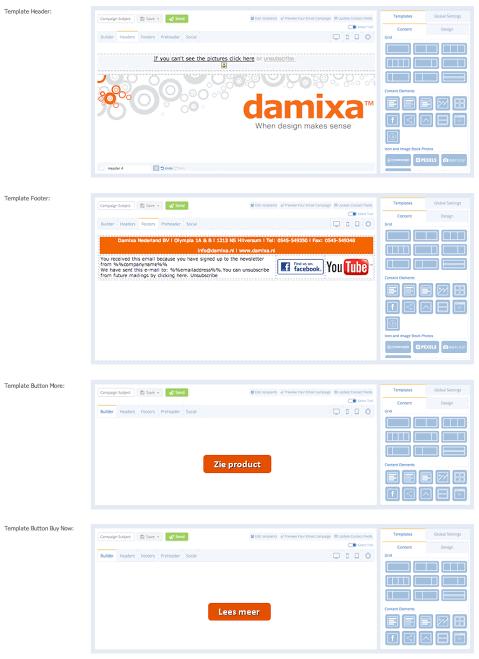 Damixa eMailPlatform Reference