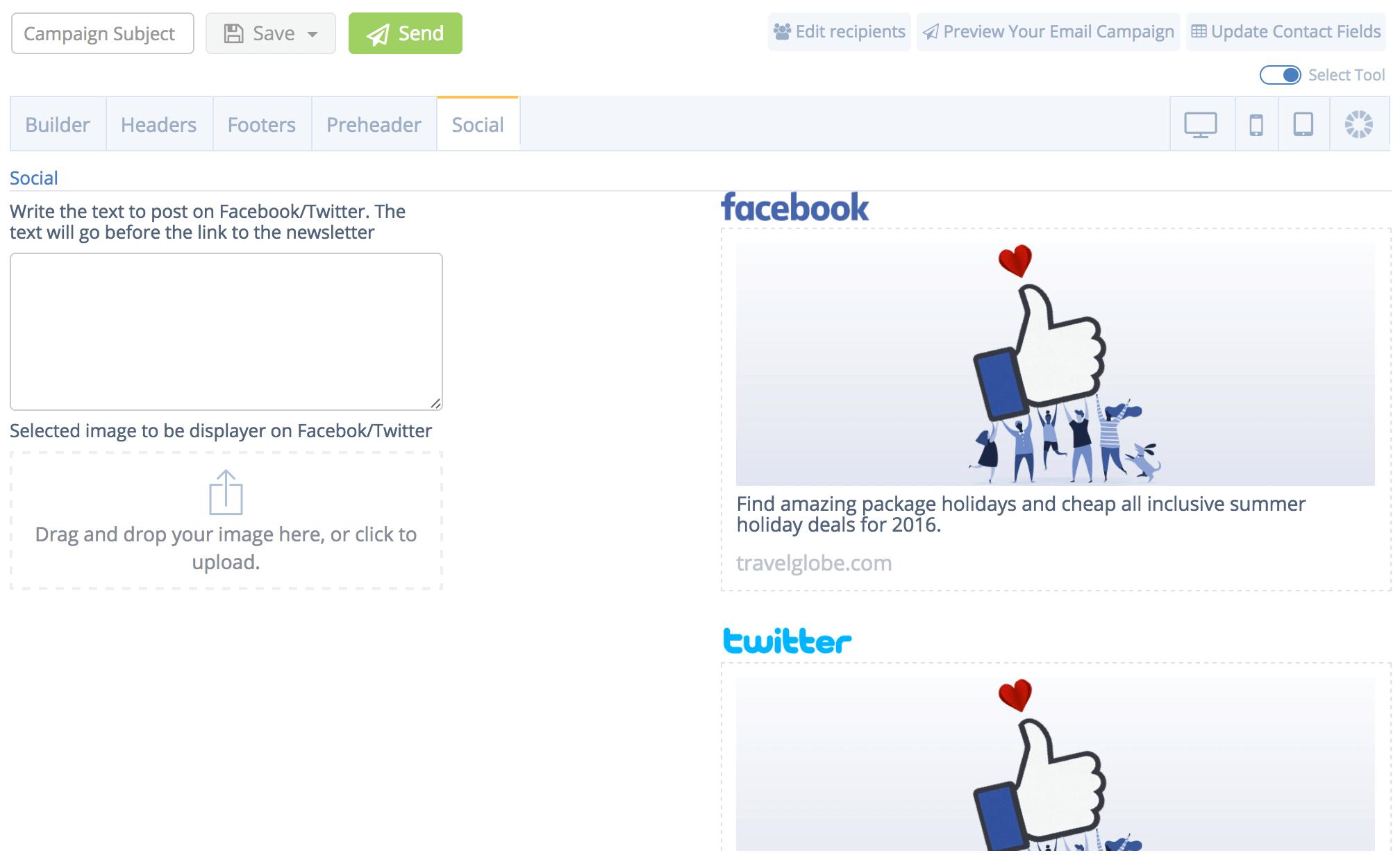 eMailPlatform Social Media 2