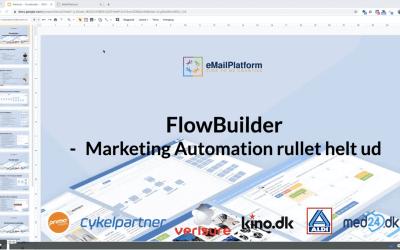 Webinar: FlowBuilder – Marketing Automation rullet helt ud