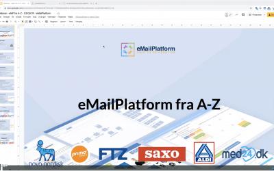 Webinar: eMailPlatform fra A-Z